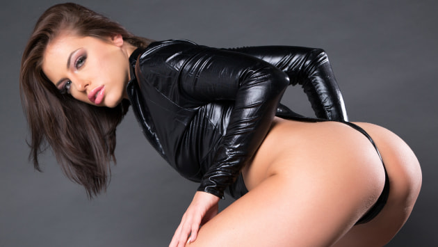 Skintight Leather Fun