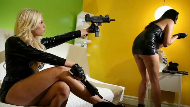 BTS of Britney and Missy Caught in the Act