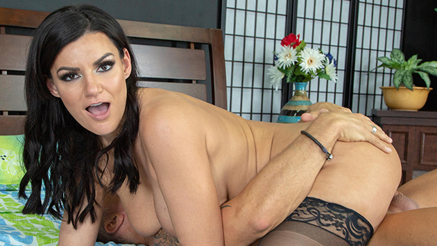 Wildly Hot Becky Bandini Fucking LIVE