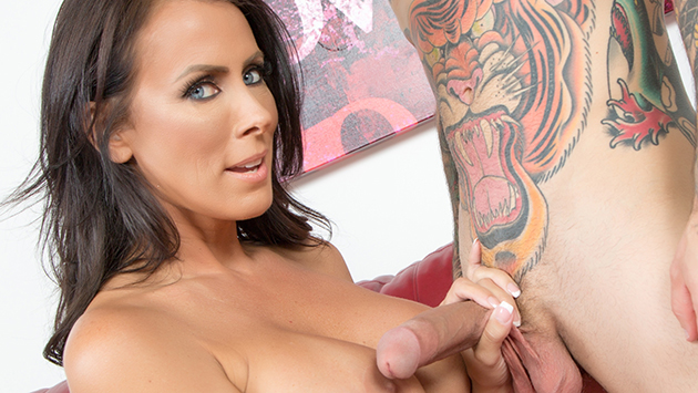 Hot MILF Reagan Loves Cock LIVE